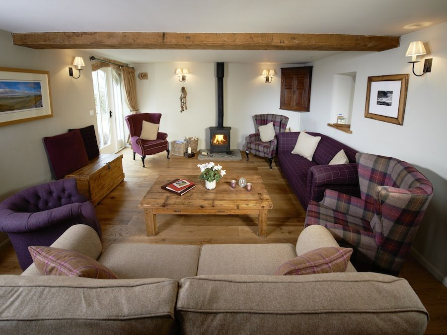 We'll rearrange the furniture to allow everyone to chill out in Angel Barn's lounge
