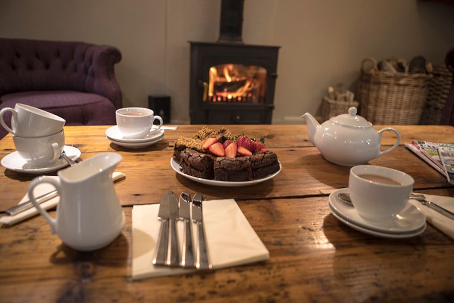 Get cosy in front of the fire