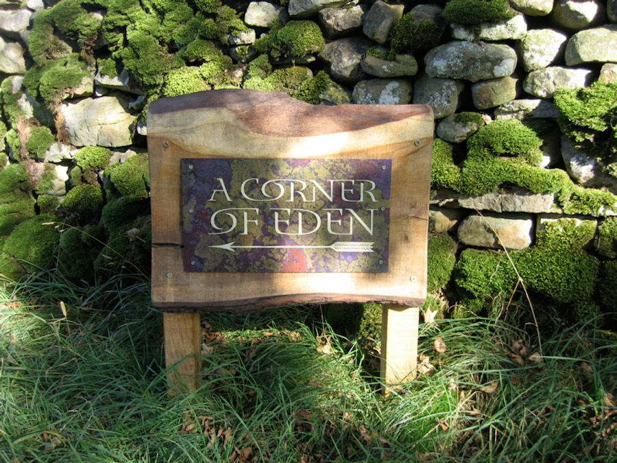 A Corner of Eden - this way...