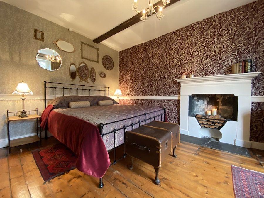 Comfy superking bed in Bedroom 1
