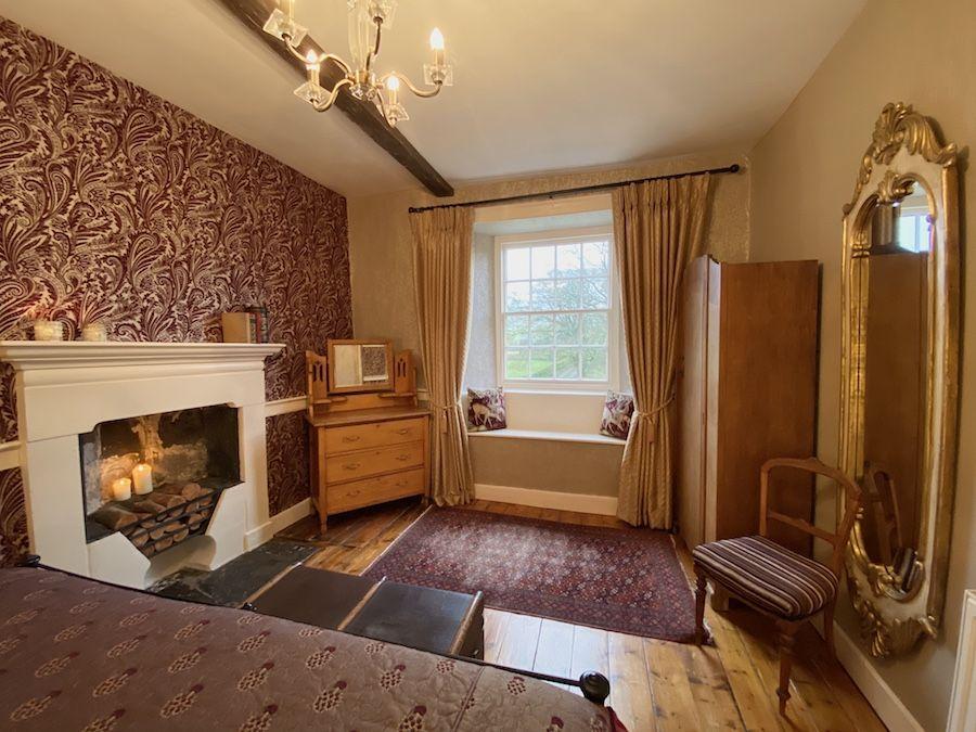 Looking towards the window seat in Bedroom 1