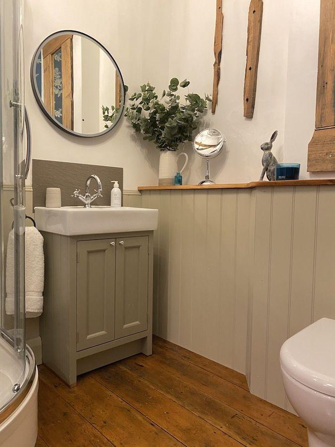 DG FH shower room basin 900