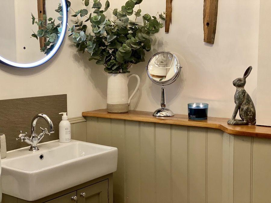 Shower room details